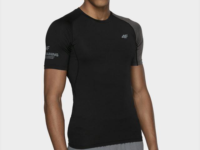 Pánske športové tričko s krátkym rukávom 4F Skin Training