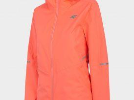 Dámska športová bunda 4F NeoDry Membrane 8.000 neon peach