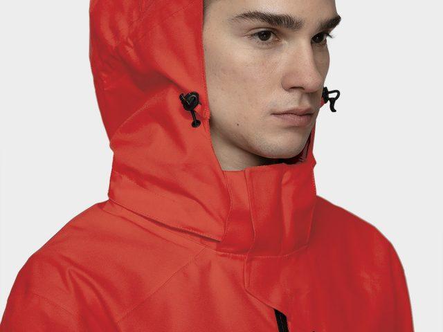 Pánska športovo-trekingová bunda 4F NeoDry Membrane 8.000 red