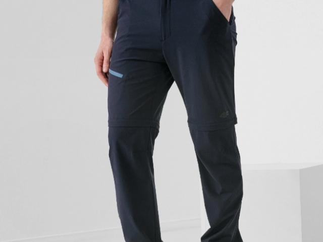 4F AKCIA nová kolekcia 2021: Pánske trekingové celorozopínacie nohavice / šortky 4F Ultra Light 2v1