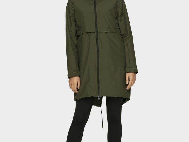 Dlhá dámska bunda do dažďa 4F NeoDry Membrane 5.000