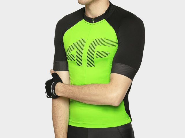 Cyklistické pánske tričko 4F Cycling Racing Team Dres