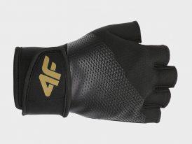Tréningové unisex rukavice na cvičenie 4F Golden Warrior Sport Gloves
