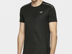 AKCIA: Ultraľahké bežecké tričko 4F Dry and Cool Reflective Men black