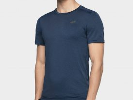 Pánske športové tričko s krátkym rukávom 4F Dry and Cool Training