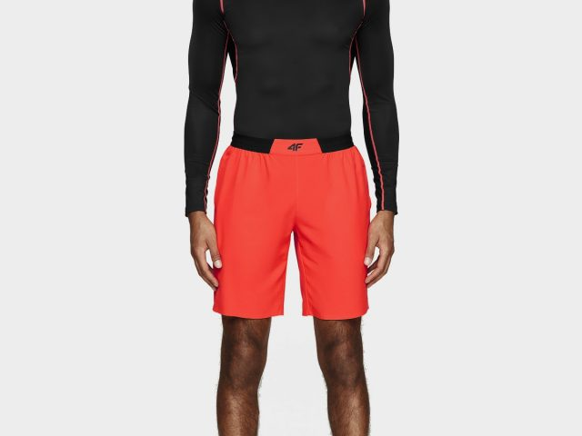 AKCIA: pánske športové tričko s dlhým rukávom 4F Gym 4 Fit Skin
