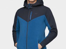 Pánska prešívana Thermo Fleece bunda 4F Warm Dry and Breathable