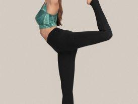 Dámske legíny na cvičenie 4F Dry and Cool High Waist Yoga