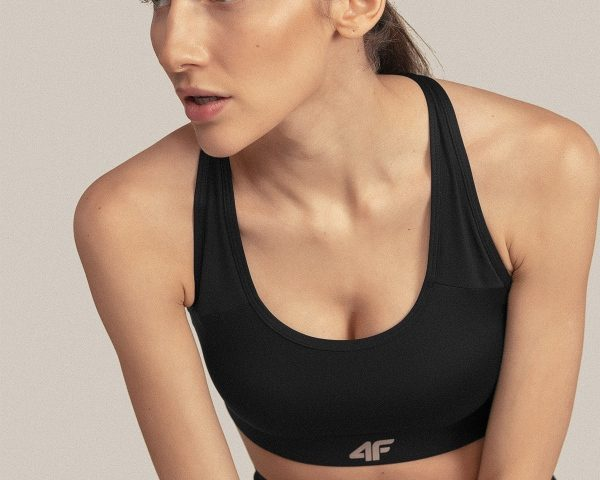 Športová bezšvová podprsenka 4F Skin Low Support Bra