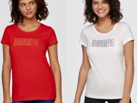 AKCIA: Dámske bavlnené tričká 4F Energetic Lady