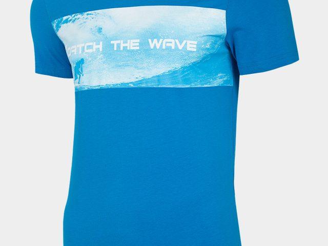 Pánske bavlnené tričká 4F Catch the Wave