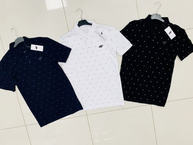 Pánske športové polokošele 4F Luxury Polo Shirt