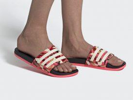 Dámske šľapky ADIDAS Adilette Comfort Tropic Rio Lady Summer 2020