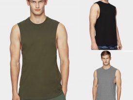 AKCIA Výpredaj: Pánske športové tričká bez rukávov 4F Fitness Training Men