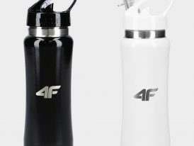 Športové fľaše 4F Sports Bottle Stainless Steel Antikor 600 ml
