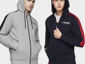 AKCIA Výpredaj: 4F Heritage Sportswear Hoodie Men pánske športové mikiny s kapucňou