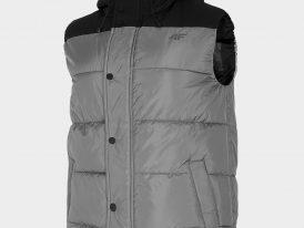 Pánska zateplená vesta 4F Warm Padding Vest ZIMA 2020/21