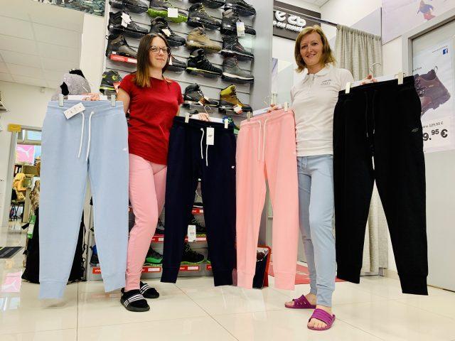 Dámske športové tepláky 4F Stretch Lady Pants