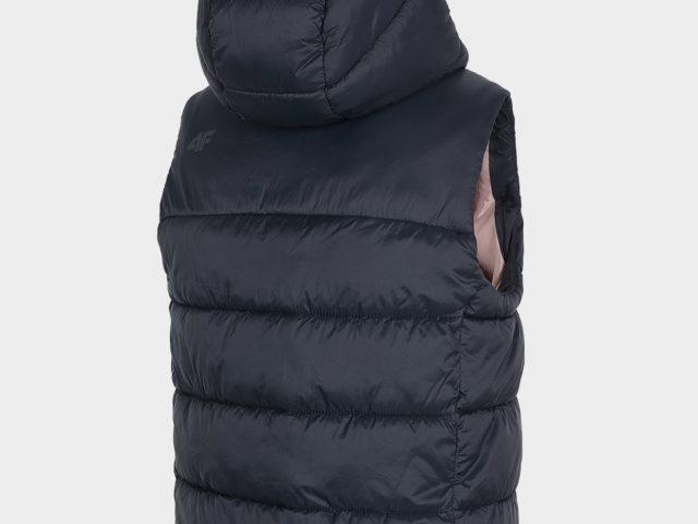 Dámska zateplená vesta 4F Warm Padding Vest ZIMA 2020/21