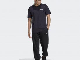 Bavlnené pánske tričko ADIDAS Essentials Plain Tee Legend Ink Jeseň/Zima 2020/21
