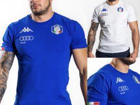 6Cento FISI pánske reprezentačné tričká KAPPA ABOU 3F FISI ZIMA 2020/21