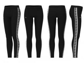 Dámske športové legíny Kappa Dessy Women black nová kolekcia zima 2020/21