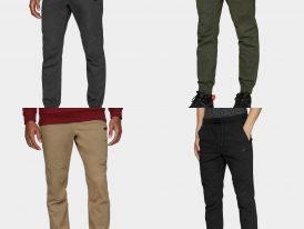 Pánske športové nohavice na bežné nosenie 4F