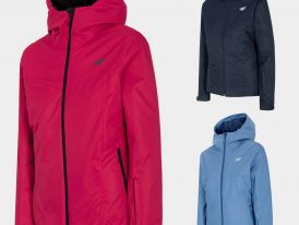 Dámske lyžiarske bundy 4F NeoDry Skiing Jacket Lady ZIMA 2020/21