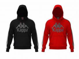 Pánska mikina s kapucňou Kappa Durtado nová kolekcia zima 2020/21