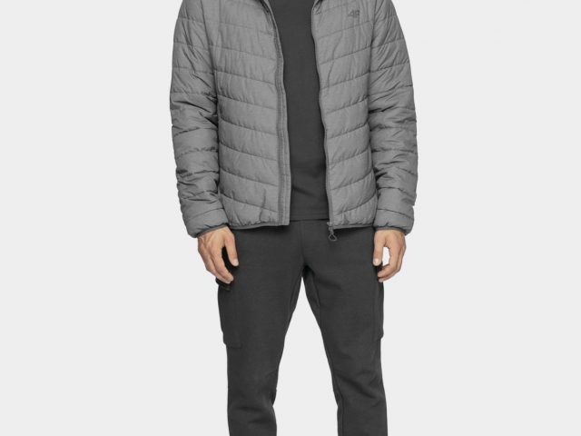 Pánske bundy 4F Synthetic Down Padded Jacket ZIMA 2020/21