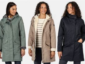 Dámsky zimný kabát Regatta Rimona RWP304