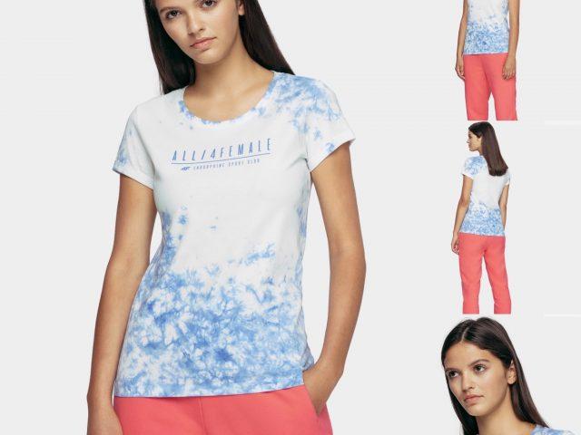 AKCIA nová kolekcia: Dámske tričko 4F Graphic Beauty
