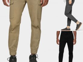 4F pánske kapsáčové nohavice na voľný čas 4F Sportstyle ZIMA 2020/21