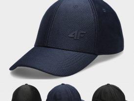 Šiltovka 4F Classic Cap Silicon Logo blue, black