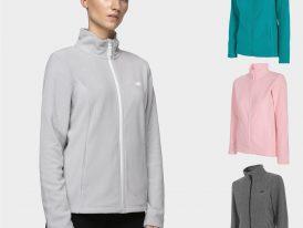 Dámska flísová bunda 4F Warm Fleece Jacket Lady ZIMA 2020/21