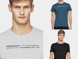 AKCIA nová kolekcia: Pánske bavlnené tričká 4F Sportswear Department Tee