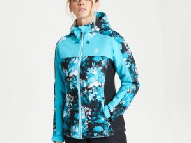 AKCIA Dare2b: Dámska lyžiarska bunda Dare2b Burgeon Skijacket Ared 20.000 ZIMA 2020/21