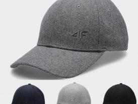 Pánska zateplená šiltovka 4F Sport Wool Cap ZIMA 2020/21