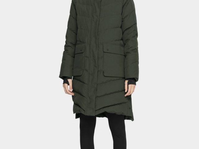 Dámsky páperový zimný kabát 4F Natural Down Padding RDS ZIMA 2020/21
