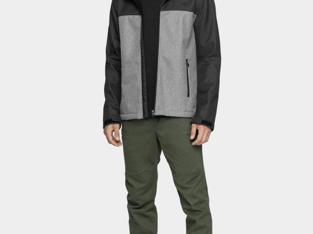 Pánske softshellové bundy 4F Outdoor Windproof Jacket