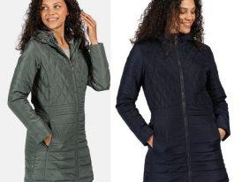 Dámsky zimný kabát Regatta Parmenia RWN157