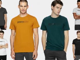 Pánske bavlnené tričko Sportswear 4F TSM304