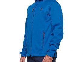 Pánska turistická softshellová bunda BERG OUTDOOR URRA modrá