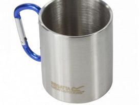 Hrnček Regatta Stl Mug Karabiner Silver RCE121