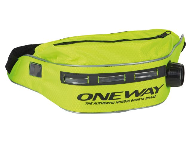 Bežecká ľadvinka One Way XC Nordic Thermo Drink Belt Led yellow ZIMA 2020/21