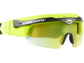 Okuliare na bežky ONE WAY XC-Optic® XC Glasses PODIUM neon-yellow ZIMA 2020/21