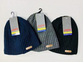 AKCIA Výpredaj: Čiapky zimné Areco Sport Classic Leather Logo