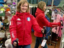 6CENTO FISI dámska lyžiarska reprezentačná bunda Kappa 6CENTO 612 FISI red ZIMA 2020/21