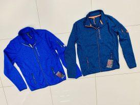 AKCIA GTS: Pánske športové svetre GTS Knitted Fleece Jacket ZIMA 2020/21