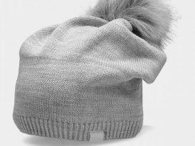 Dámska zimná čiapka s mikrofleecom 4F CAD156